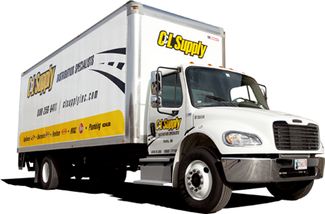 A C&L Supply freight truck